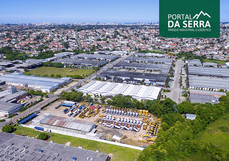 Portal da Serra, o primeiro condomínio industrial, logístico e corporativo do Portal IC - Portal IC