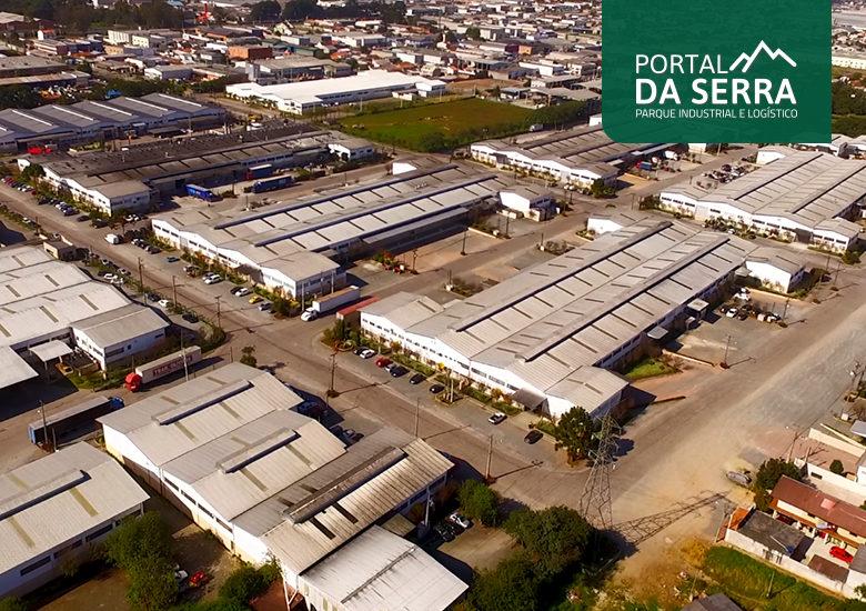 Portal da Serra o primeiro condomínio industrial e logístico do Portal IC - Portal IC